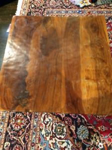 Solid wood side table rosewood.