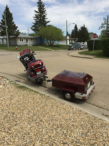 1982 Honda GL and trailer