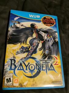 Bayonetta 2 + 1 en bonus sur la Wii U