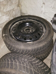 Winter Tires is Great Condition Peterborough Peterborough Area image 2