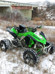 LOOKING FOR KFX 450 ENGINE PARTS OR COMPLETE ENGINE.