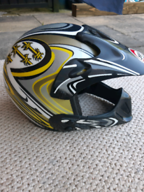 Motorcycle - motocross helmet