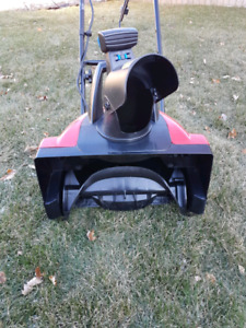 "Toro 18"" Electric Snowblower (Model 38381) Spring Special!"