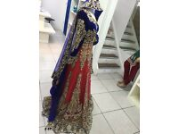 Asain bridal dress/lengha