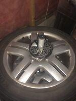 "17"" VW longbeaches rims 5x100"