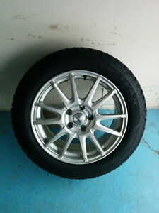 Winter Tires With Alloy Wheels