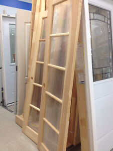 24x78 Clear Pine French Doors Belleville Belleville Area image 1