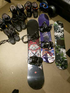 Snowboard gear for 5 to 13 year olds