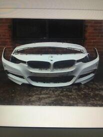 BMW 3 series f31 M Sport Estate 2013 2014 2015 genuine front + rear bumper for sale