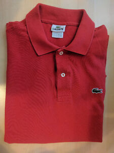 3x Lacoste Classic Polos
