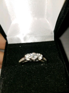 Past, Present, Future Ring - 0.65ct - $2500 Appraisal