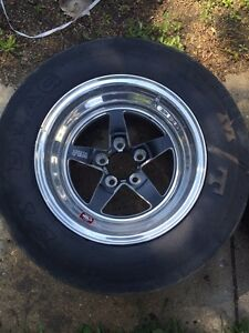 Weld RTS Drag wheels Mustang