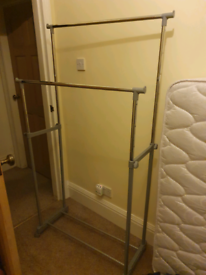 Double clothes Rail