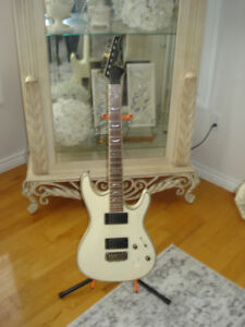 Ibanez SA Series Neck Thru Body in Olympic White Electric Guitar