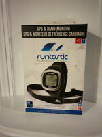 RUNTASTIC WATCH GPS HEART MONITOR NEW IN THE BOX
