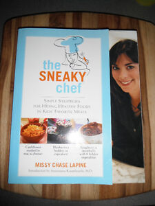 The Sneaky Chef cookbook (Missy Chase Lapine) for picky eaters!