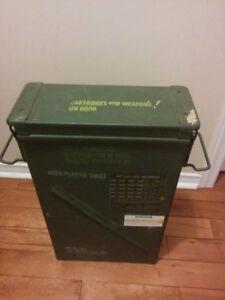 Military Motor metal box