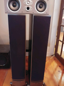 Polk Speaker Package. Towers and Center Speaker