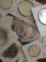WANTED paying above average price for silver coins and bullion