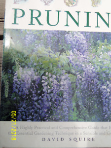 PRUNING BY DAVID SQUIRE, COMPREHENSIVE GUIDE--NEW HARDCOVER BOOK