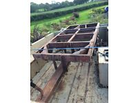 Sankey trailer chassis Land Rover mod