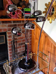 Grande Lampe de Table Look Retro / Mid Cnetury Moderne