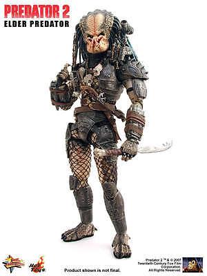 HOT TOYS Predator 2 MMS48 Elder Predator 1/6 scale