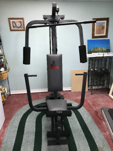 Weider gym set excellent condition