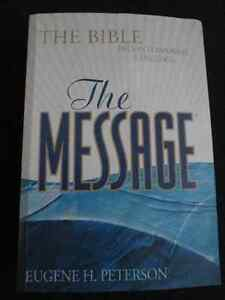 """""""The Message"""" - The Bible in Contemporary Language"""