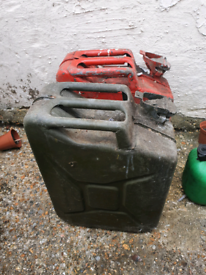 20L Ex Army Jerry Cans