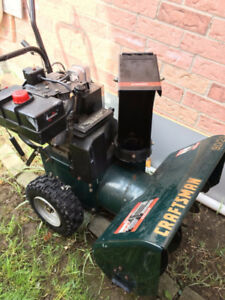 TWO STAGE CRAFTSMAN SNOW BLOWER