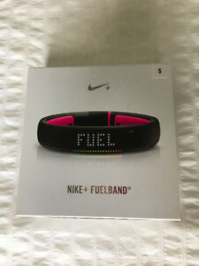Women's Nike Fuel Band (black and pink) Size Small.