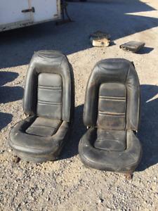 Firebird Bucket Seats 1971 1972 73 74 1975 76 1977 78 79  Camaro