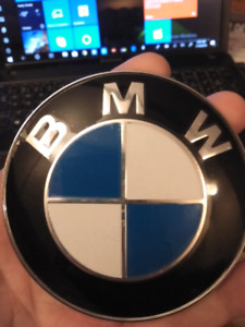 BMW FRONT HOOD EMBLEM REPLACEMENT.