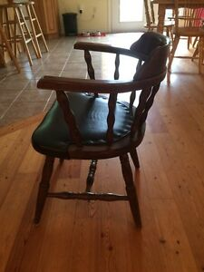 Solid Wood Desk Chair London Ontario image 2