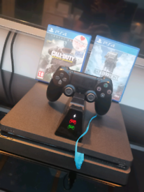 PS4 1tb,start wars battle front, call of duty, fifa21, PS4 controller