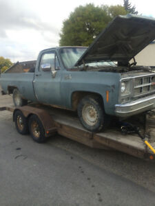 Parting out 1980 GMC Sirra Grande 1500