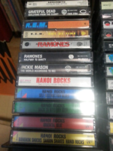 WANTED YOUR OLD CASSETTE TAPES