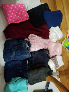0 to 3 month clothing 67pc