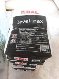 5 x bags levelling compound