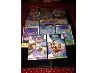11 x children famous DVD's inc Peppa Pig, Dora