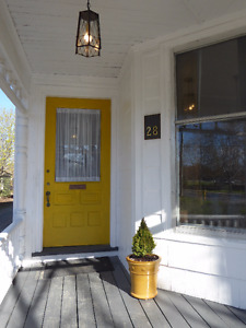 Lovely Furnished 2 Bdrm Apartment in Kentville Century Home