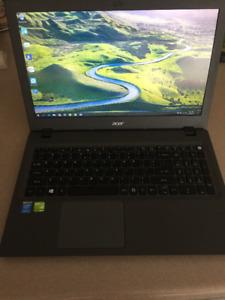 Acer Laptop, Intel Core i5 5200U, 8GB Memory, Nvidia 940m 2GB