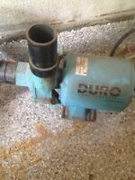 Duro water pump