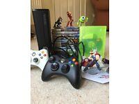 Xbox 360 120GB - 13 Games + Disney Infinity 2.0