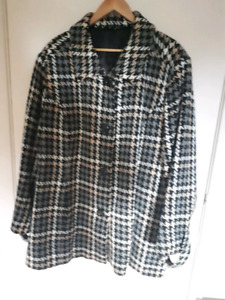 4x dress coat / jacket
