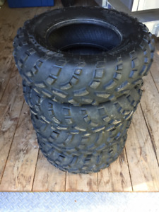 Carlisle ATV Tires AT489 ( 2 - 25x8x12, 2 - 25x10x12 )