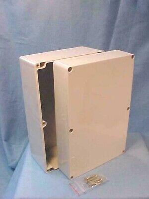 New Bud Pn-1341 Gray Plastic Junction Box Pn-1341 Enclosure 6 X 9 38 X 4