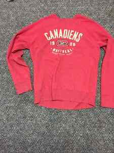 Montreal Canadiens Sweater for sale London Ontario image 1