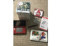 Metallic red 3ds and games